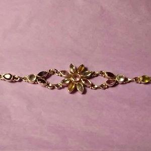Jewelry - Sterling Silver Multi Gemstone Bracelet